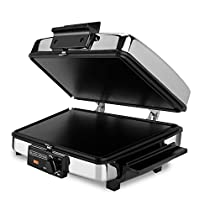 BLACK+DECKER G48TD 3-in-1 Waffle Maker, Black