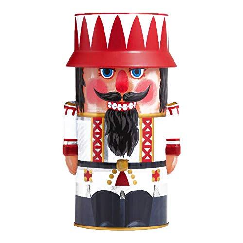 Wicklein Chocolate Lebkuchen Nutcracker Cookie Tin 16.93 oz each (2 Items Per Order, not per case)