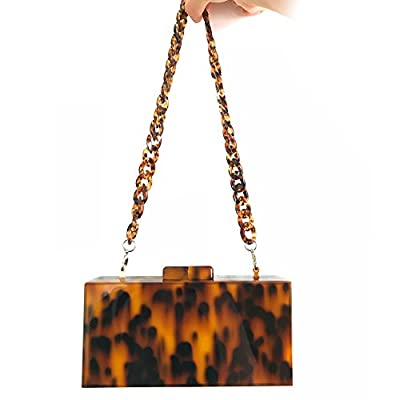 Acrylic Clutch Leopard Evening Bag Women Purses and Handbags