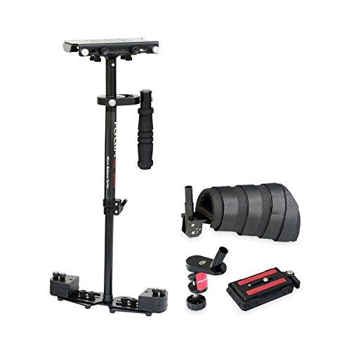 FLYCAM HD-3000 Micro Balancing 60cm / 24 'Estabilizador de mano Estabilizador Steadycam con Soporte de Brazo para cámaras de...