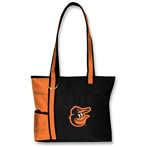 Charm14 MLB Baltimore Orioles Womens Tote Bag with Embroidered Logo by Little - Womens Earth Handbag Little