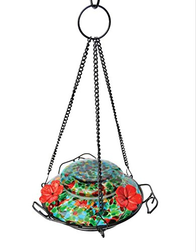 - Wild Wings WWGHF1 Top Fill Hummingbird Feeder, Blue Sunset