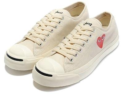 cdg converse low cream