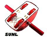 SunL Full Body Stretching AB Roller Slider Core
