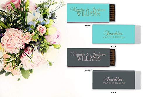 Wedding Matchbooks - Personalized Matchbox - The Perfect Match Match Boxes - set of 50 69