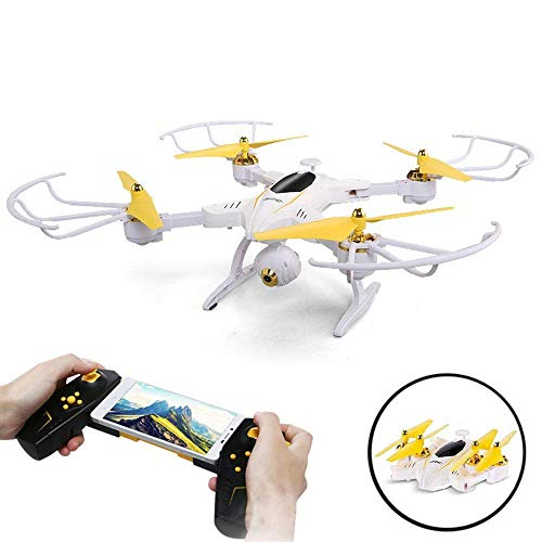 SZJJX Foldable Quadcopter WiFi RC Drone Remote Control Helicopter (Drone 2)