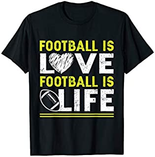 Football Love life Football s T-shirt | Size S - 5XL