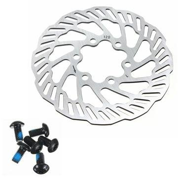 Parts & Components Bike Brakes & Parts - Cycling Bicycle Bike Brake Disc Rotors 120mm/140mm/160mm/180mm/203mm With Bolts - 160mm -, 1 x Bike Brake Rotor, 6 x Bolts