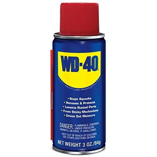 WD-40 Lubricant Aerosol Spray 3 oz