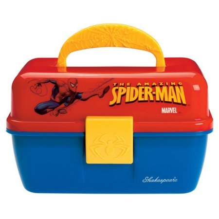 Shakespeare Multi-Purpose Tackle Box/ Play Box (Spider-Man)
