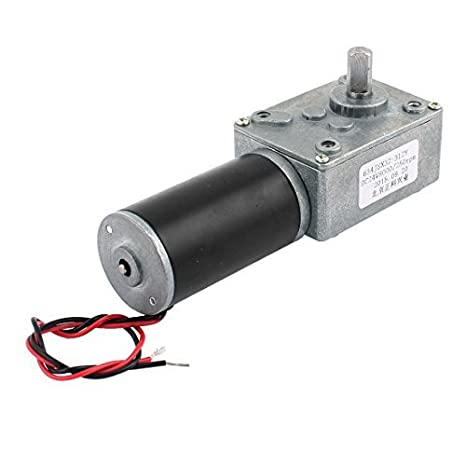 eDealMax DC 24V 250 rpm 8mmx14mm D-Forma de eje Electric Power Turbo Worm motorreductor - - Amazon.com