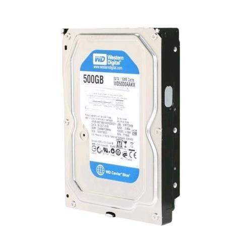 Western Digital 500GB SATA 3.5 Hard Drive - WD5000AAKX-60U6AA0 ()