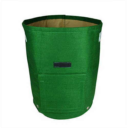 Potato Tubs - Daul Layer Non-Woven Fabrics Potato Tub Grow Potatoes Patio Recycled Growing Bag