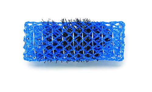 Dna Evolution Nylon Brush Rollers D25mm Blue Pack of 12