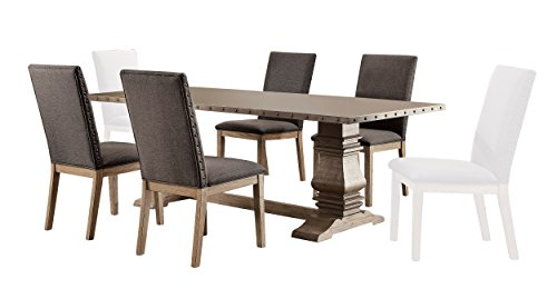 zinc top dining table - 8