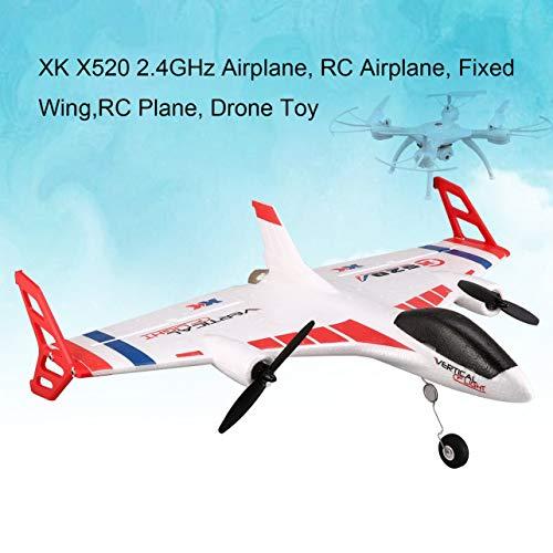 WOSOSYEYO XK X520 6CH 3D / 6G Avión RC Aviones no tripulados sin escobillas Vertical despegue Tierra ala Delta