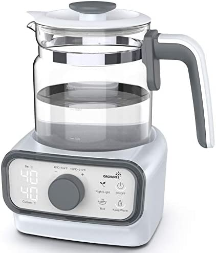 Baby Instant Warmer, Bottle Warmer With Accurate Temperature Control For Formula, Coffee And Tea, 1.3 Liter Formula Dispenser With LCD Display And Timer