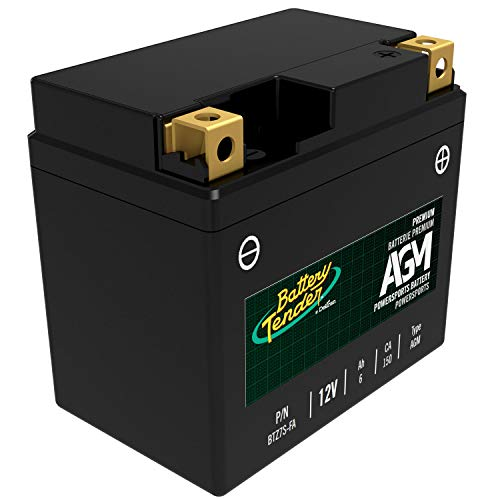 Battery Tender BTZ7S-FA 12V, 6Ah, 150CCA AGM Engine Start - Case Battery Tender