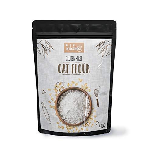 Kitchiez Oat Flour, 400 g [Gluten-Free, Great for Baking]