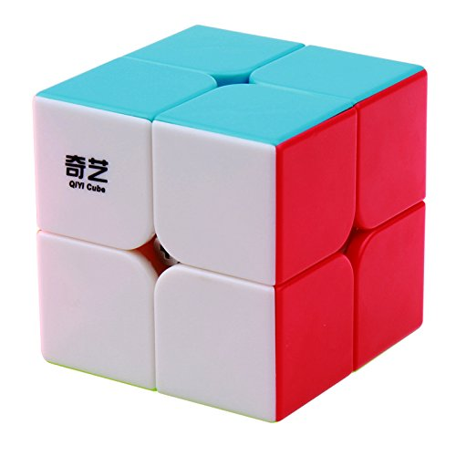 BestCube Qiyi 2x2 Qidi 2x2x2 Speed Cube Stickerless Puzzle Cube (Qidi S Version)