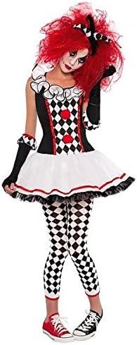 Disfraz de Arlequín para niñas y adolescentes en varias tallas ...