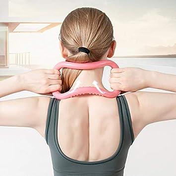 ThreeH Anello Yoga Anello Pilates Anello Home Traning per Testa Indietro Ginocchio Gamba Massaggio Completo del Corpo 2 Pezzi