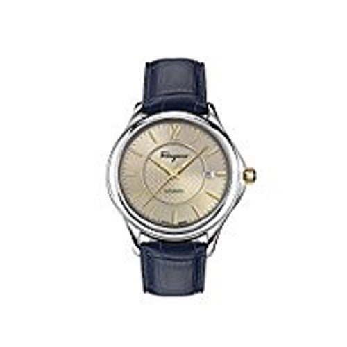 Salvatore-Ferragamo-Mens-Time-Automatic-Swiss-Quartz-Stainless-Steel-and-Leather-Casual-Watch-ColorBlue-Model-FFT010016