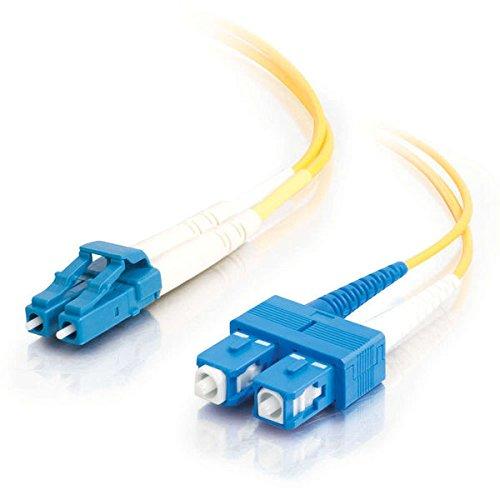 C2G/Cables to Go 29920 LC-SC 9/125 OS1 Duplex Single-Mode PV