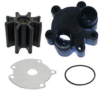 Bravo I/II/III Water Pump Repair Kit-Includes: Impeller, Wear Plate, Housing, & O-Rings Replaces : O.E.M no. 47-59362T6 Sierra no. 18-3237 no. 12084 Fits: Merc Bravo I/II/III 1988 Up w Plastic HOUSING