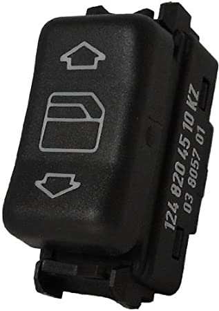 uxcell/® Front Left Master Control Power Window Switch 1248204610 for Mercedes Benz W124 W126 W201