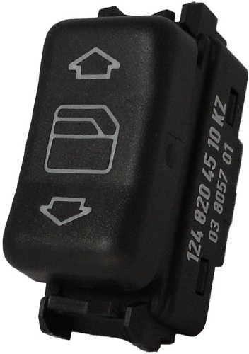 Fits Mercedes Benz 560SEL 1986-1991 Window Control Switch (Right Front or Rear in Center Console)