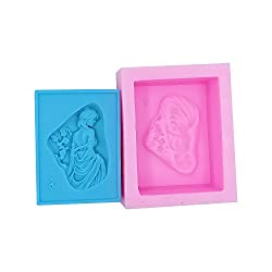 Monqui Beauty Fair Silicone Soap Molds Candle Mold