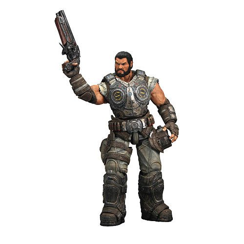 Gears of War 3 Series 2 Dominic Santiago Action -