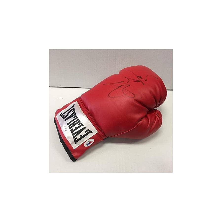 Miguel Cotto Signed Everlast Boxing Glove Auto Autograph Cert PSA/DNA Certified Autographed Boxing Gloves