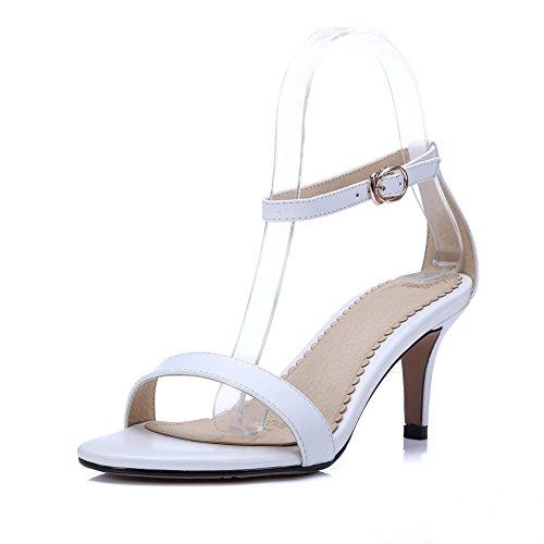 Bout 5 Blanc Blanc 36 Femme AdeeSu SLC03950 Ouvert OqwWpP