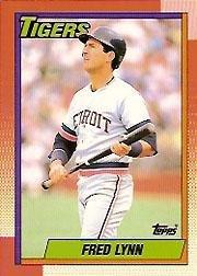 1990-topps-tiffany-baseball-card-107-fred-lynn-near-mint-mint