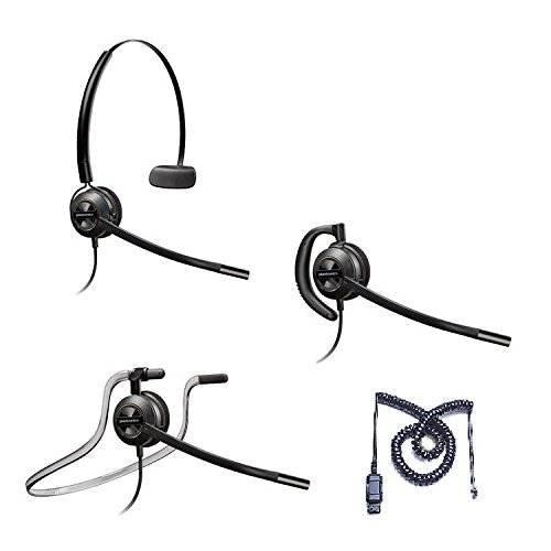 - Mitel Compatible Plantronics EncorePro 540 HW540 Headsets Bundle for Mitel 50xx 51xx 52xx 53xx 55xx 85xx 8600
