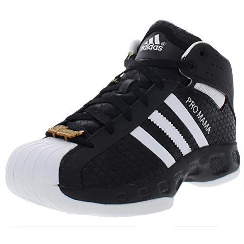 adidas Sport Performance Womens Pro Model S Leather Basketball Shoes B/W Adidas Pro Models Basketball Shoe