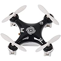 RC Quadcopter Helicopter Mini Remote-controlled Rechargeable Arm Drone 4 Channels 6 Axis Gyro 2.4 Ghz Black