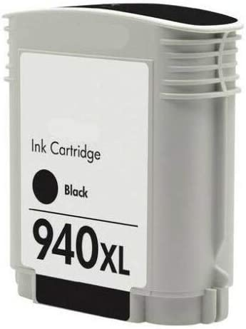Rich/_life Remanufactured Ink Cartridge Replacement For HP940XL HP 940XL Black C4906A HP Printer Officejet Pro 8000 8500 8500a Plus Premium  2 Pack Black