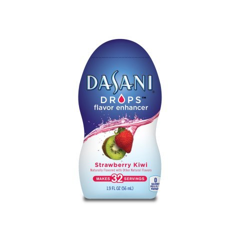 Dasani Drops Water Flavor Enhancer Strawberry Kiwi 1.9 Fl Oz (Pack of 3)