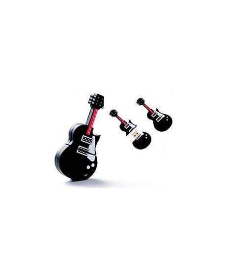 Lote de 10 Pendrive Memoria USB Llavero Guitarra 4GB: Amazon ...