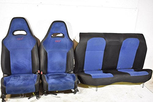(Subaru 04 Impreza WRX STI Front and Rear Seat Set Seats 2004)