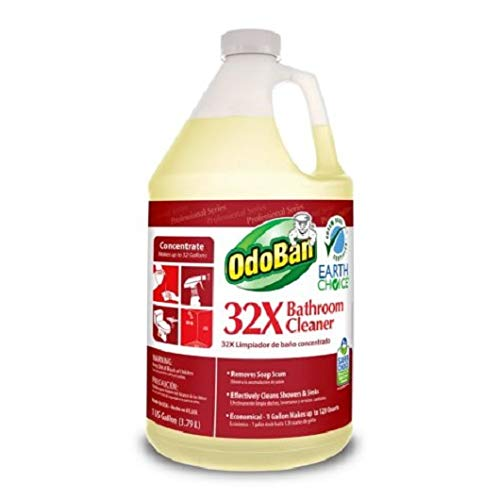 OdoBan Earth Choice 32X Bathroom Cleaner Concentrate (1 gal.) SC