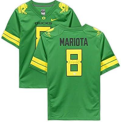 best loved 3b060 2f3ea Marcus Mariota Oregon Ducks Autographed Nike Game Apple ...