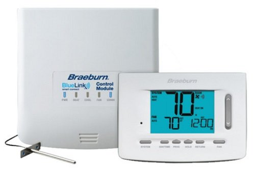 (Braeburn 7500 Universal Wireless Kit 7, 5-2 Day or Non-Programmable 3H / 2C (Includes Thermostat, Control Module and Supply Air)