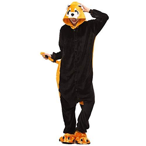 Zip up Fleece Onesie Pajamas for Women Adult Cartoon Animal