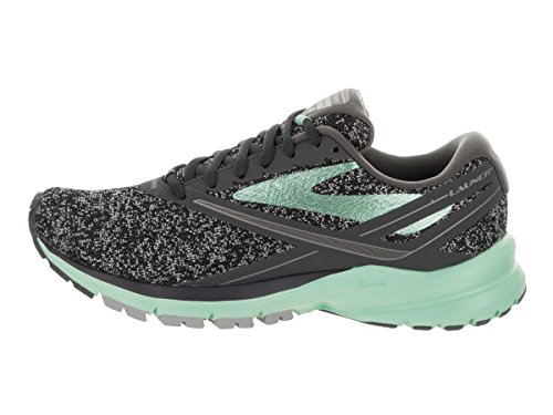 Brooks Launch 4, Zapatos para Correr para Mujer Multicolor (Anthracite/beachglass/silver)