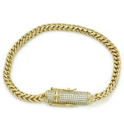 Gold Diamond Clasp - 4