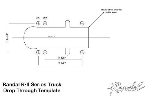 Randal R-II 150mm silver 50° Truck: Amazon.co.uk: Sports & Outdoors